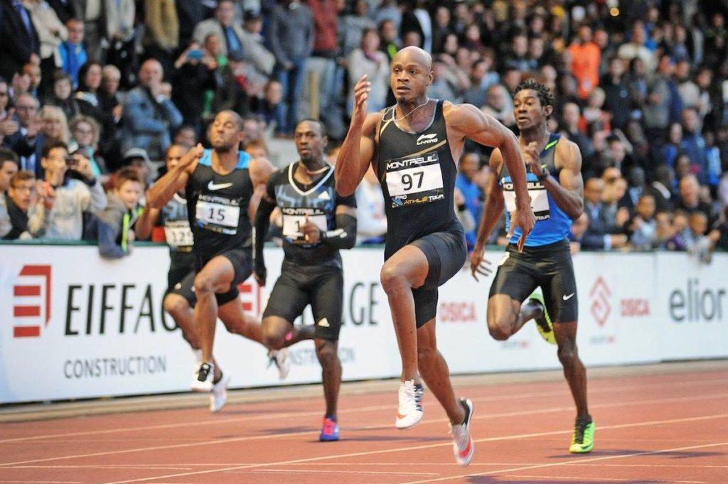 Asafa Powell s'impose en 10''02 sur 100m