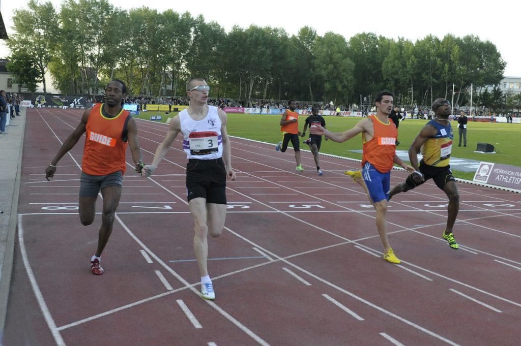 Timothée Adolphe remporte le 100m T11 handisport