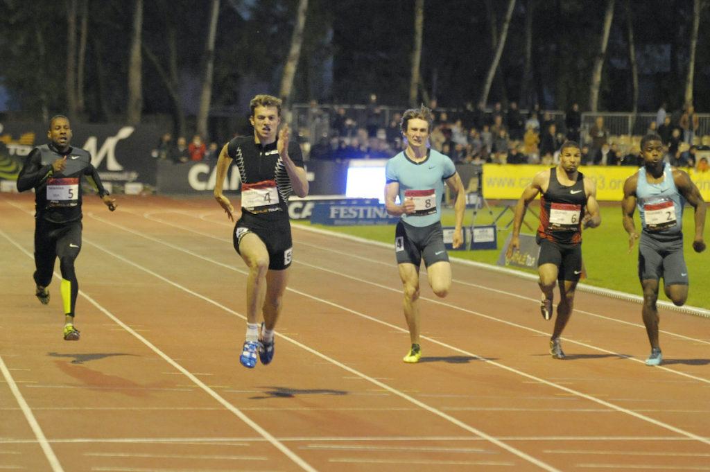 Christophe Lemaitre s'impose sur 200 mètres
