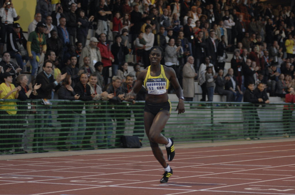 Christine Ohuruogu remporte le 400 mètres