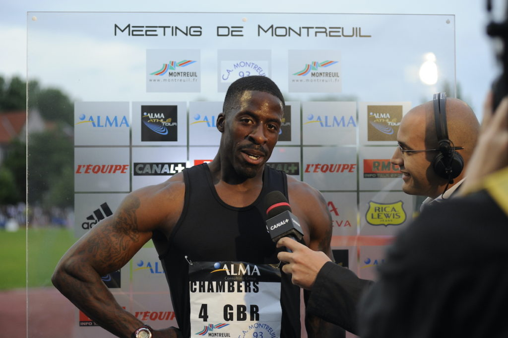 Interview de Dwain Chambers