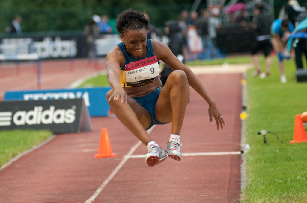 La Camiste Nathalie Marie-Nelly au triple saut